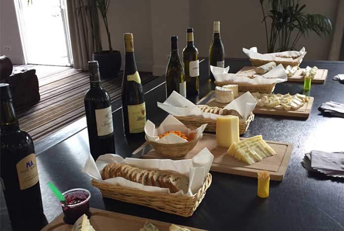 Incentive vins et fromages atelier accord met-vin