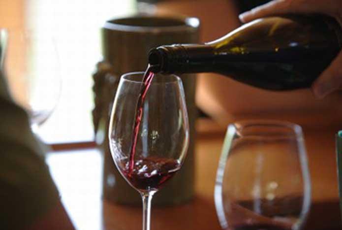 Sommelier vin rouge