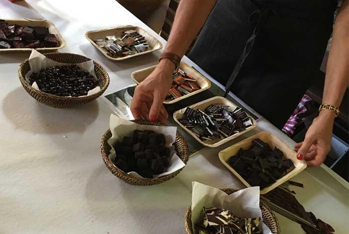 Incentive degustation vin et chocolat